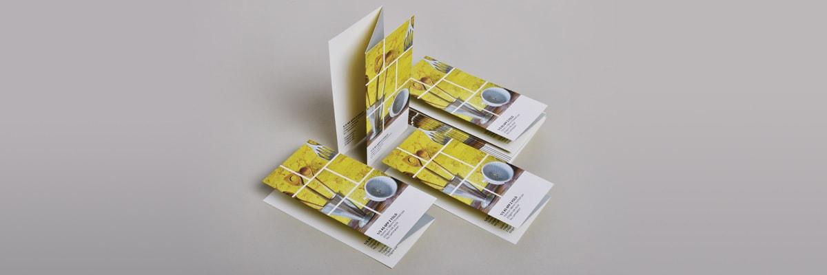 Folded Leaflet Printing (Salisbury)