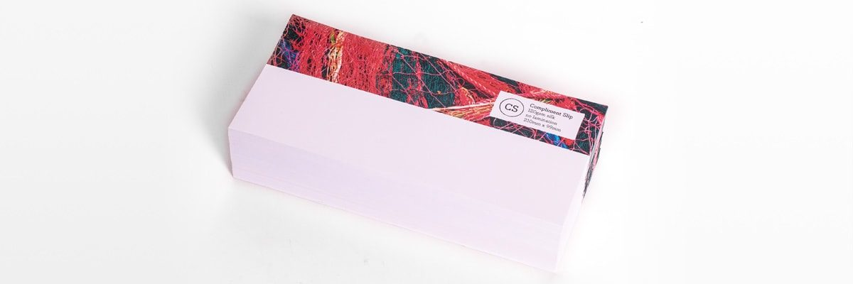 Compliment Slip Printing (Fordingbridge)